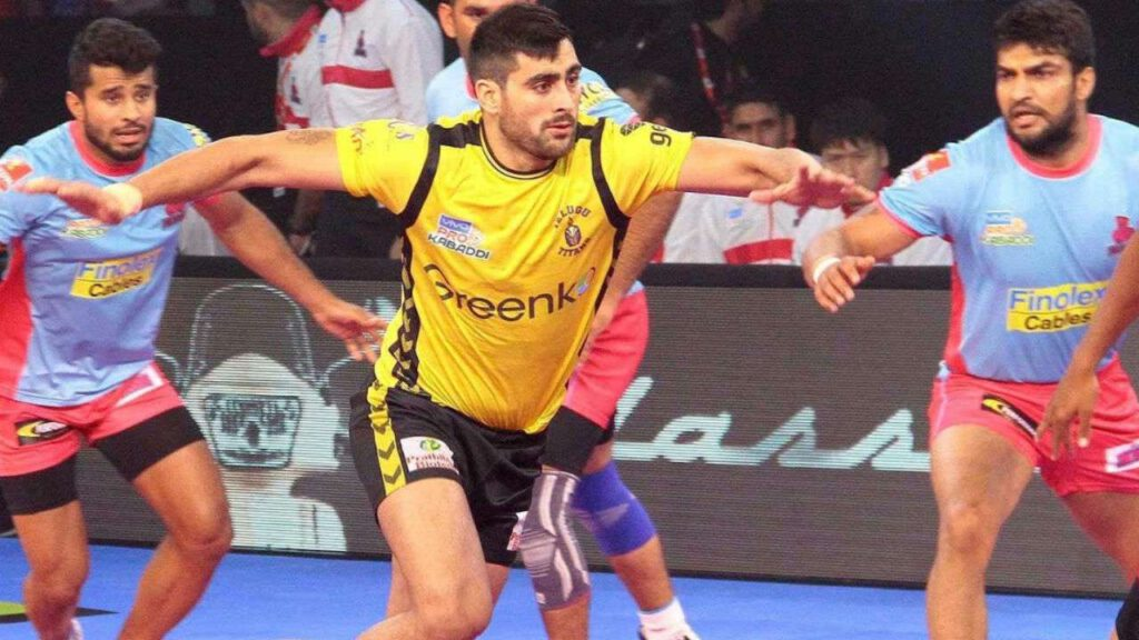 Rahul Chaudhary Kabaddi players