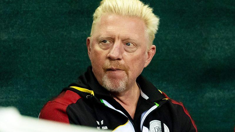 Coach Boris Becker