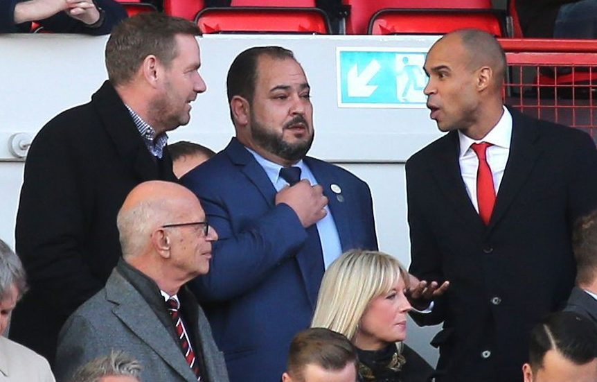 Charlton and ex-chairman Matt Southall are in conflict